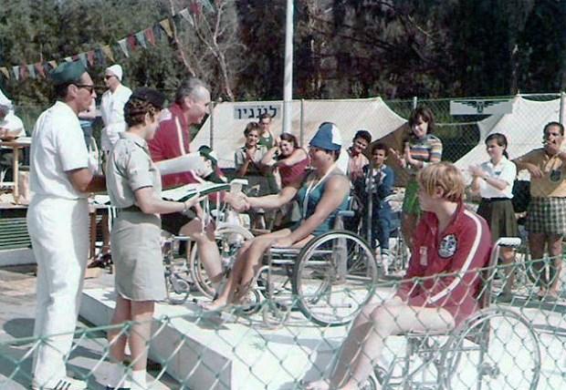 Le Paralimpiadi 1968, disputate a Tel Aviv