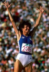 Sara Simeoni alle Olimpiadi di Montréal 1976