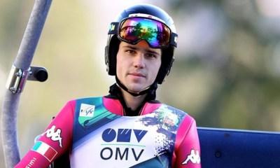 Davide Bresadola atleta azzurro di salto con gli sci in coppa del mondo 2017
