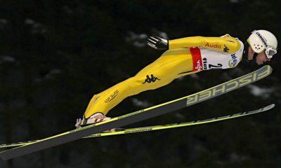 Sebastian Colloredo atleta della nazionale italiana di salto con gli sci