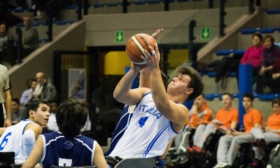 L'Italia all'Europeo U22 di basket in carrozzina