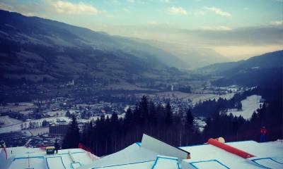 La Coppa del Mondo di snowboard slopestyle