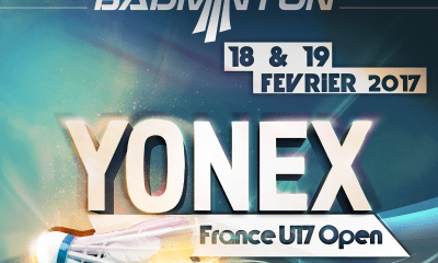 L'Open di Francia under 17 di badminton