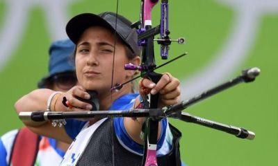 CdM tiro con l'arco: Claudia Mandia out ai quarti