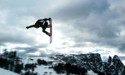 Davide Boggio, snowboarder italiano