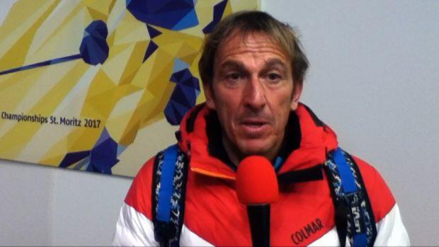 Paolo De Chiesa è uno dei commentatori dello sci alpino per Raisport