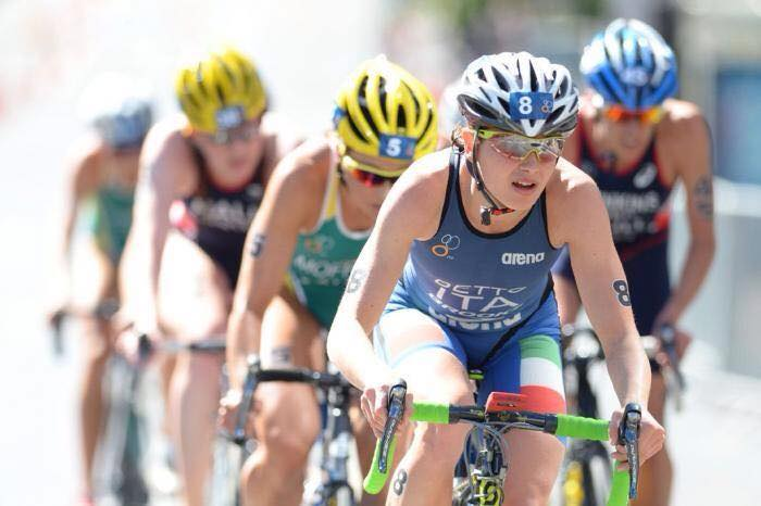 world triathlon series 2017 yokohama, Alice Betto italia