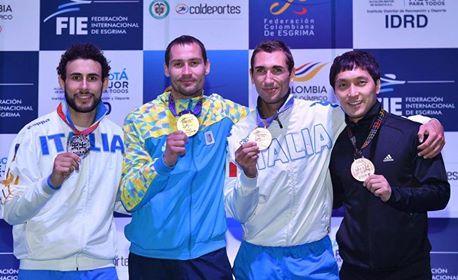 Spada, Coppa del Mondo: triplo podio azzurro a Bogotà