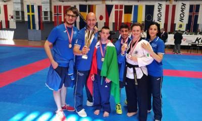 parataekwondo austria open 2017 italia nazionale fita