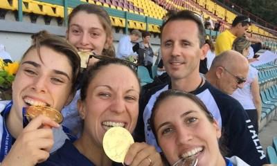pentathlon mondiali youth a 2017 oro squadra femminile e argento elena micheli, maria beatrice mercuri, alice rinaudo