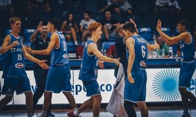 L'Italia U16 festeggia la vittoria sulla Russia e il passaggio del girone