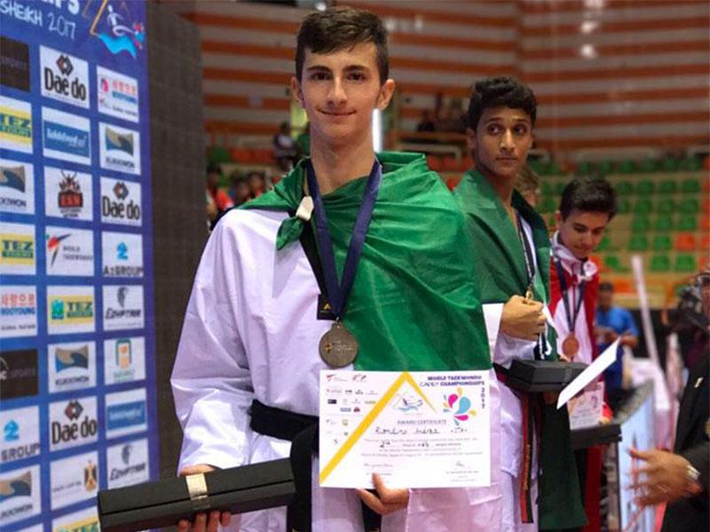 taekwondo andrea riondino argento ai mondiali cadetti 2017 italia
