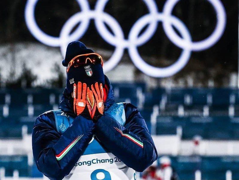 Federico pellegrino nella staffetta 4x10 km alle Olimpiadi invernali 2018 olimpiadi invernali 2018 day 10