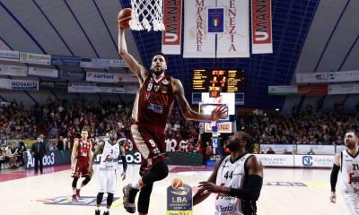 Basket serie A1: nella 20^ giornata, Venezia vince ed è prima.
