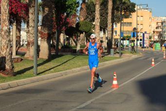 paratriathlon coppa del mondo 2018 aguilas mauro gava italia triathlon categoria PT5 paratriathlon world cup 2018