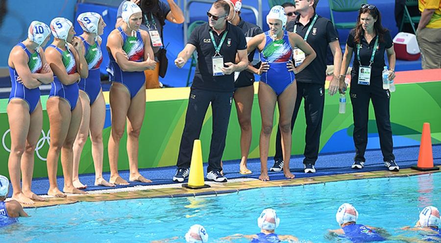 pallanuoto femminile europei 2018 quarti italia ungheria setterosa 7rosa italy hungary waterpolo barcelona barcellona picornell