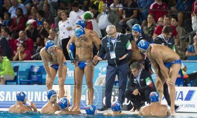pallanuoto maschile europei 2018 finalina italia croazia settebello 7bello sandro campagna italy waterpolo barcellona barcelona picornell piscina 33° european championship