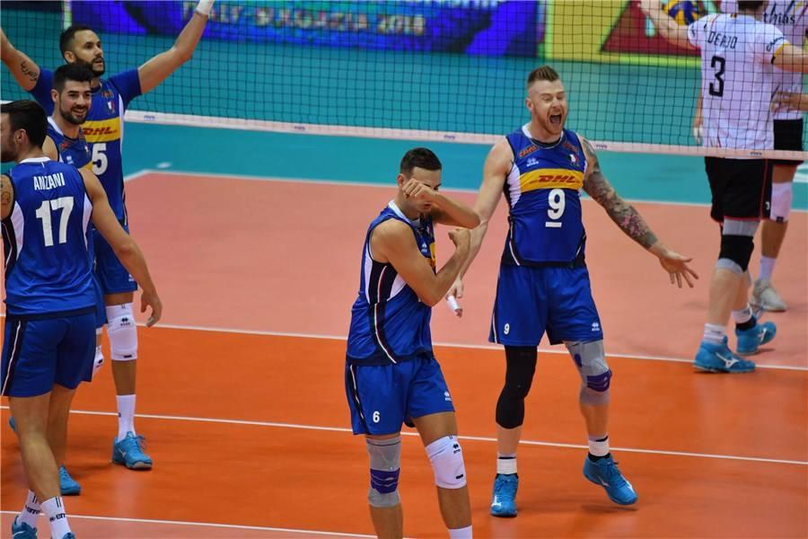 PALLAVOLO. L'Italvolley raddoppia: battuto 3-0 il Belgio