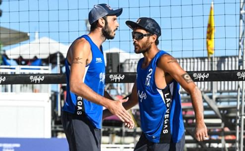 Paolo Nicolai e Daniele Lupo si scambiano un cenno d'intesa