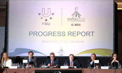 FISU a Losanna (photo credit: universiade2019napoli.com