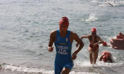triathlon coppa del mondo 2018 salinas e europei under 23 alessandra tamburri nuoto italia italy world triathlon cup 2018 campionato europeo under 23 2018