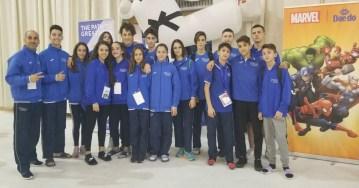taekwondo europei cadetti 2018 nazionale italiana italia italy antonio garrone argento teodoro del vecchio bronzo denis baretta bronzo campionato europeo cadetti spagna