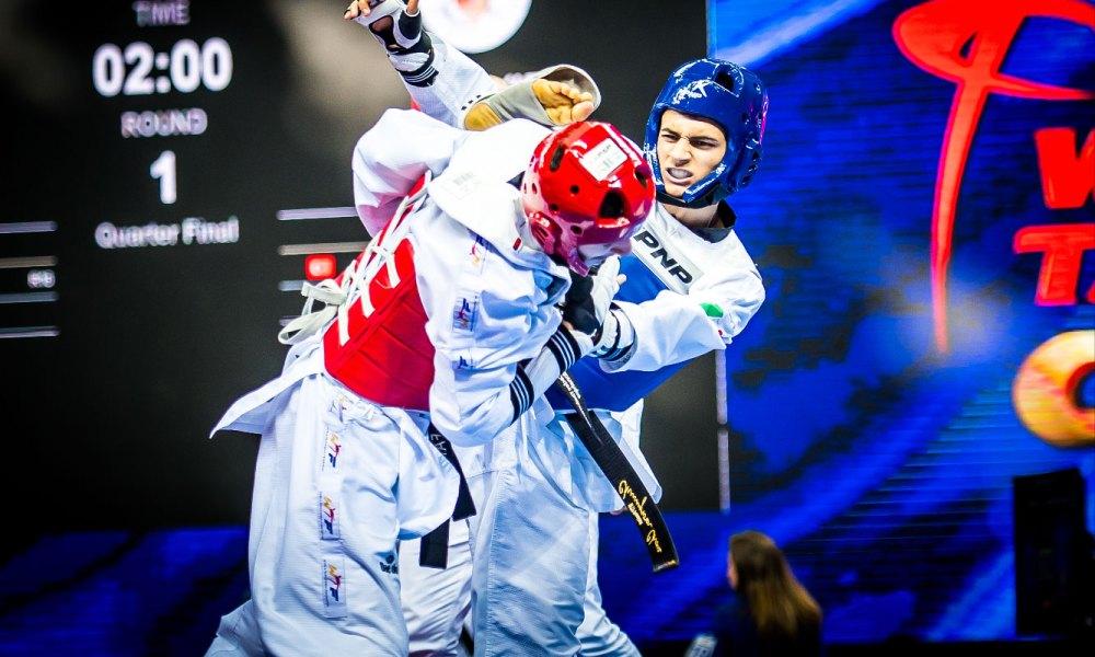 taekwondo world grand slam wuxi 2018 vito dell'aquila italia italy world taekwondo grand slam champions series 2018