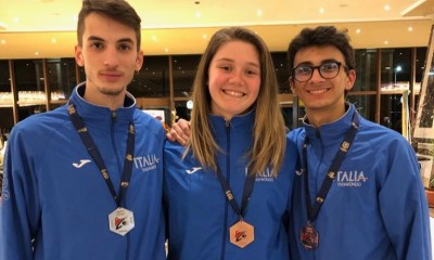 taekwondo egypt open 2019 italia simone crescenzi laura giacomini vito dell'aquila italy G2 argento bronzo hurghada