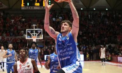 Basket serie A1, sintesi 22^ giornata: Sassari torna a vincere
