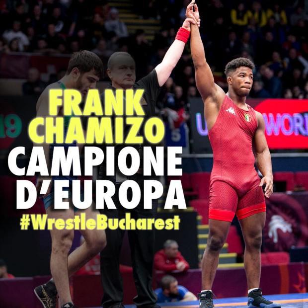 Frank Chamizo Campione d'Europa a Bucarest. Credit photo: FIJLKAM Facebook pagina ufficiale