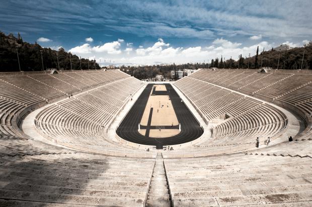 Lo stadio delle prime Olimpiadi moderne