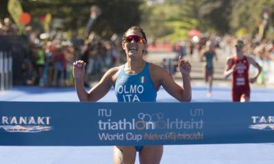 triathlon coppa del mondo 2019 new plymouth angelica olmo prima italia italy winner world triathlon cup world cup 2019 gold
