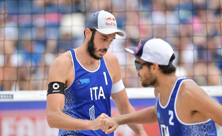 Nicolai/Lupo nella tappa di Varsavia del Beach Volley World Tour 2019