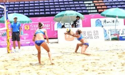 Zuccarelli & Traballi durante il torneo di Nanjing (CHN)
