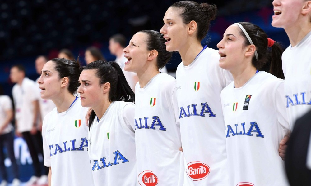 Basket europeo femminile:l'Italia all'esame Russia