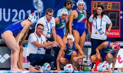 pallanuoto femminile mondiali 2019 gwangju setterosa 7rosa italia ungheria quarti italy world championships waterpolo hungary quaters final corea del sud south korea women