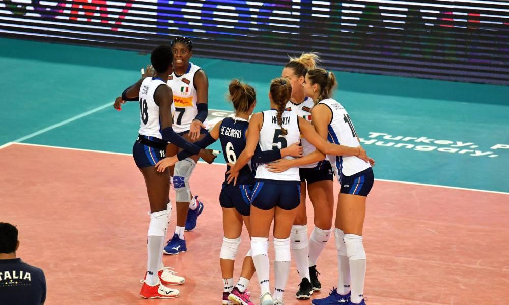 Italia Belgio volley europei