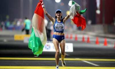 atletica mondiali 2019 doha giorgi bronzo marcia 50 km eleonora giorgi italia italy atletica leggera athletics world championships doha 2019 qatar march campionati del mondo marcia 50 chilometri