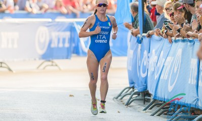 triathlon coppa del mondo 2019 weihai verena steinhauser bronzo italia italy cina china world cup bronze 3° posto third place