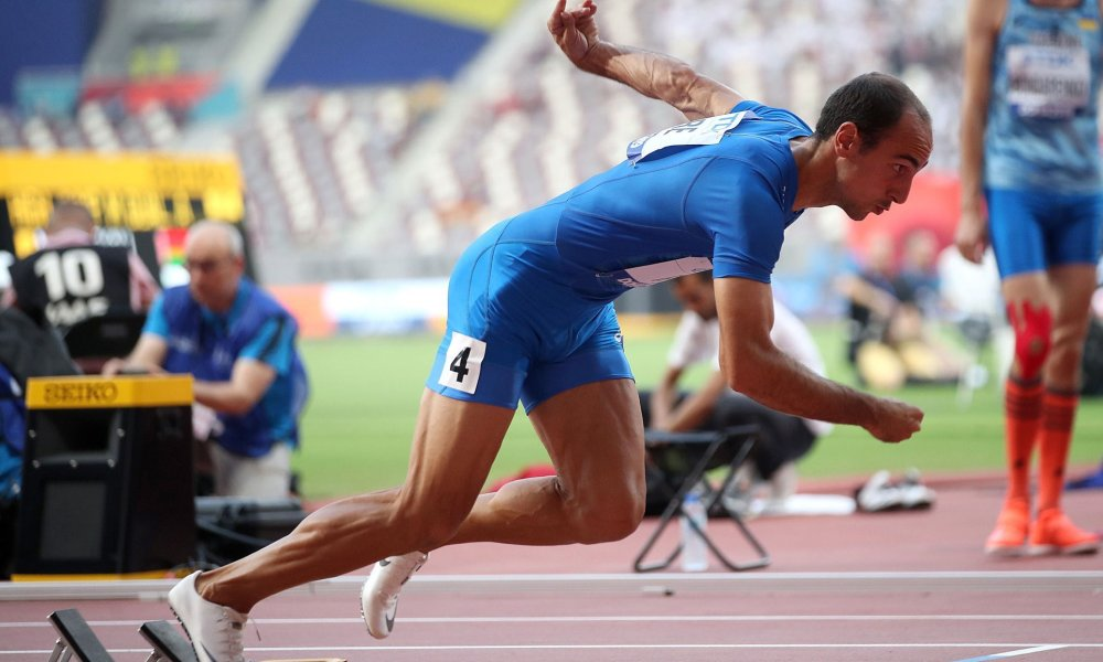 atletica mondiali 2019 doha giorno 6 davide re 400 metri italia italy 400m 400 meters atletica leggera athletics world championships doha 2019 khalifa stadium stadio run running corsa campionati del mondo