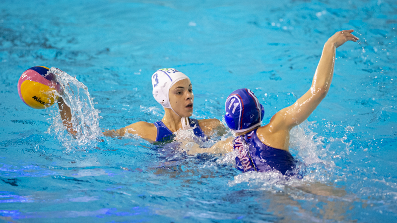 pallanuoto femminile world league 2019 girone italia russia 7rosa setterosa italy first phase waterpolo world league 2019/2020