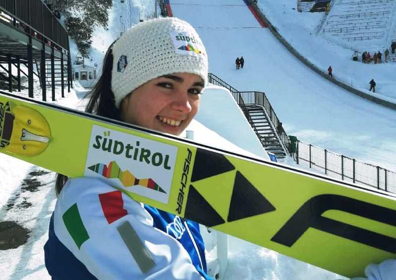salto con gli sci coppa del mondo 2019 lillehammer lara malsiner italia italy ski jumping world cup norvegia norway