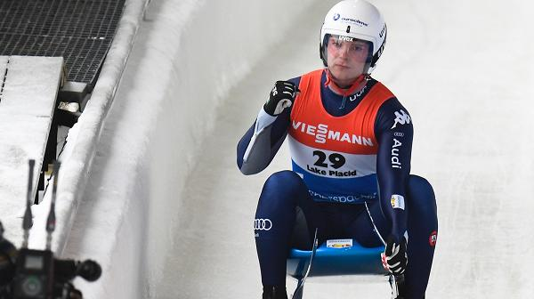 slittino coppa del mondo 2019 lake placid dominik fischnaller terzo italia italy luge world cup dublin ireland third place
