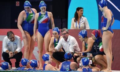 pallanuoto europei 2020 budapest 7rosa setterosa italia italy 7bello settebello duna arena waterpolo european championships 5° posto 6° posto 5th place 6th place campionato europeo