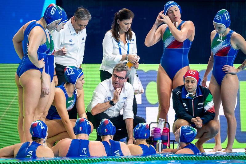 pallanuoto femminile europei 2020 budapest quarti di finale setterosa 7rosa italia russia italy quater final campionato europeo waterpolo european championships duna arena women