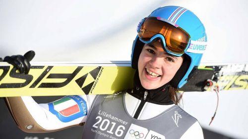salto con gli sci coppa del mondo 2020 rasnov lara malsiner italia italy world cup romania femminile ski jumping women
