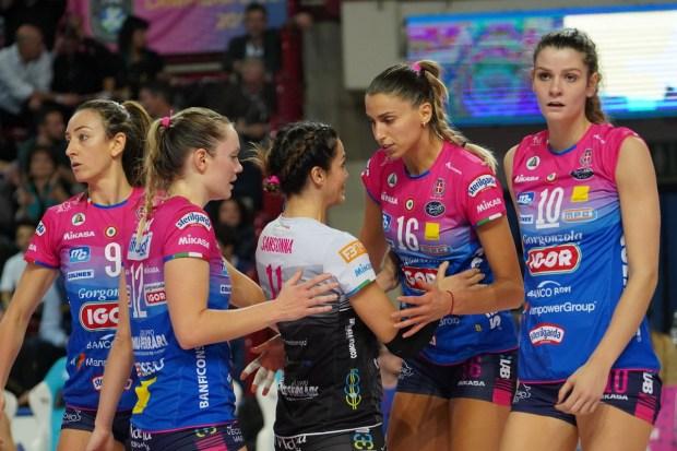 Volley Femminile, 14^ giornata: Imoco non perde il ritmo. Ottime partite anche per Busto, Scandicci e Novara.