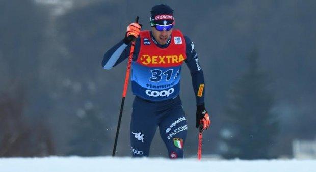 Federico Pellegrino nella gara di sprint