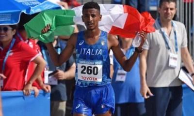 atletica maratona faniel record italiano 2020 eyob ghebrehiwet italia italy atletica leggera athletics marathon italian national record siviglia sevilla 2020 corsa run running