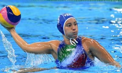 pallanuoto femminile world league 2020 girone francia italia roberta bianconi 7rosa setterosa italy france waterpolo fase preliminare paolo zizza